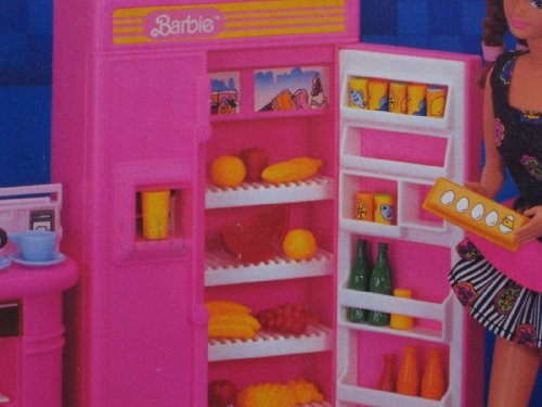 barbie kitchen playset industrial hoods stainless steel 1992 arcotoys mattel toyzonkers com
