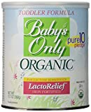 BABY'S ONLY Organic Lactose Free Toddler Formula 6x12.7oz
