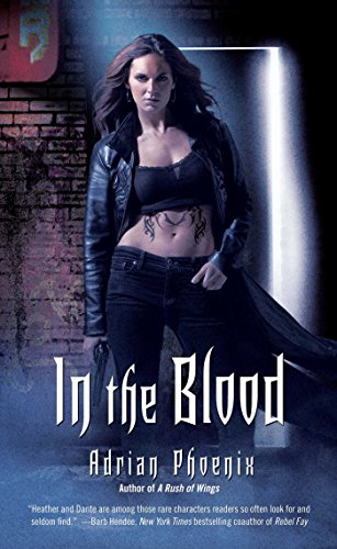 Book Review In The Blood By Adrian Phoenix Maryses