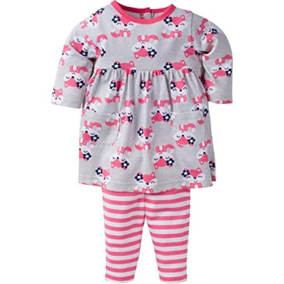 Gerber-Baby-Girls-Dress-and-Legging-Set