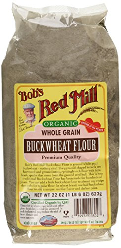 Bob39s Red Mill Organic Buckwheat Flour 22 oz 2 pk Food