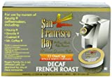 San Francisco Bay Coffee OneCup for Keurig K-Cup Brewers, Decaf French Roast, 36-Count