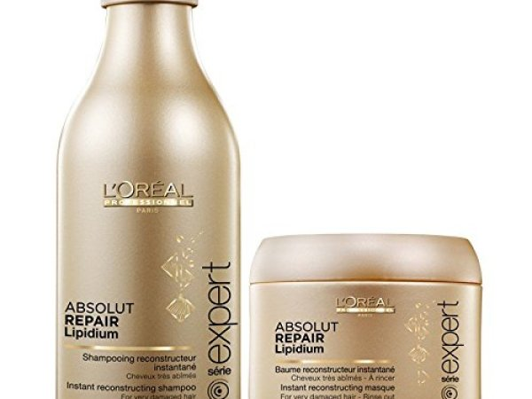 Loreal Professional Absolute Repair Lipidium Shampoo 250 ml + Mask 196 gm