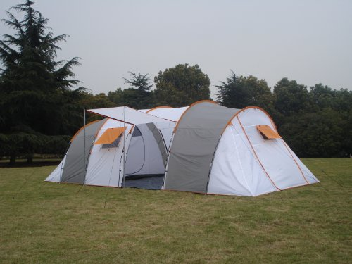 Peaktop Large Family Camping Tent 10 Person 2 Room