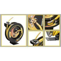 Air Hose Reel Retractable Automatic Rewind Compressor ...