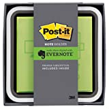 住友スリーエム(3M) ポスト・イット(R) 強粘着ノート Evernote Edition ノートホルダー 1色用(Evernoteプレミアムコード 1ヶ月分セット、 ライム 76x76mm 90枚x1パッド) NH-654-EV1G