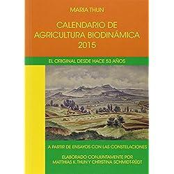 Calendario De Agricultura Biodinámica. 2015