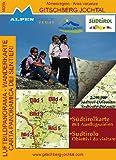 Gitschberg-Jochtal Südtirol (I405K) (Südtirol-Karte mit Ausflugszielen Luftbildpanorama Wander- und Radkarte)
