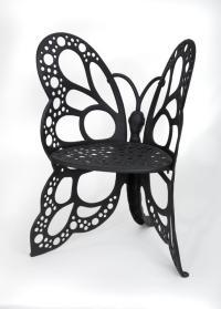 Amazon.com : Flower House FHBC205 Butterfly Chair, Black ...