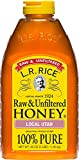 L.R. Rice Raw & Unfiltered Honey, Local Utah, 48 oz