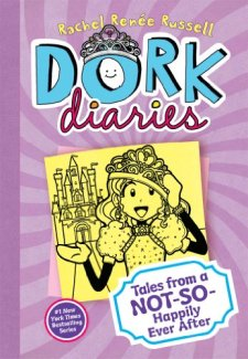 Dork Diaries 8: Tales from a Not-So-Happily Ever After by Rachel Renée Russell| wearewordnerds.com