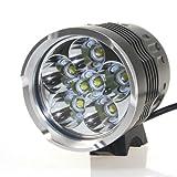 CM3 LED Scheinwerfer , 8000 lumen, 7x CREE XM-L T6 Fahrradlampe, inkl. 16000 mah Akku, CM3-LED-016