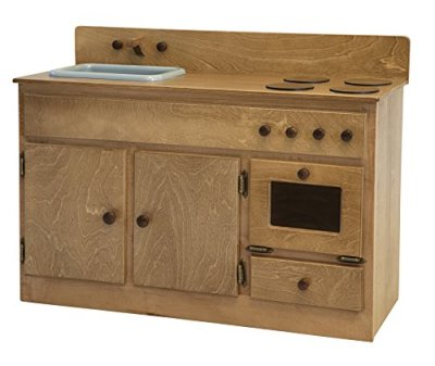 Childrens-Kids-Maple-FULL-KITCHEN-PLAY-SET-Play-Furniture-Harvest-Finish-Amish-Made-USA
