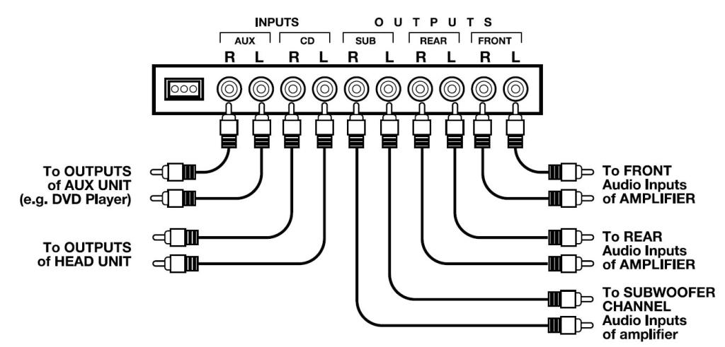 a 7 band equalizer to car stereo wiring diagram