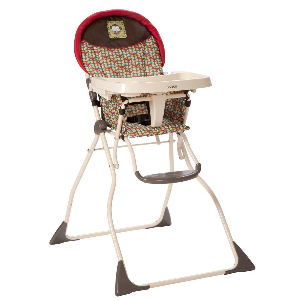 fold down high chair inexpensive ergonomic amazon cosco slim kanzi childrens