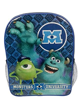 Monsters University Inc PVC Front Backpack
