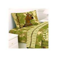 Scooby Doo Safari 4pc Bed Sheet Set Full Size Bedding