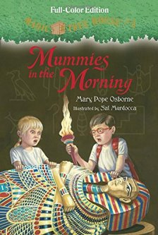 Magic Tree House #3: Mummies in the Morning (Full-Color Edition) (A Stepping Stone Book(TM)) by Mary Pope Osborne| wearewordnerds.com