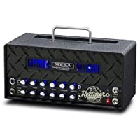 Mesa Boogie MINI Rectifier 25 Head [Black Diamond Plate / Black Grille & Vent / Blue LED]
