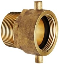 Moon 363-1511561 Brass Fire Hose Adapter, Pin Lug Swivel ...