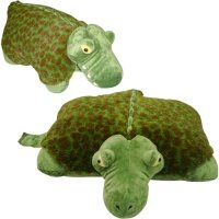 "ALLIGATOR PILLOW PET, ""SLEEPING FRIENDZ"" BRAND, LARGE 18"