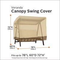 Classic Accessories Veranda 2-Seater Patio Canopy Swing ...
