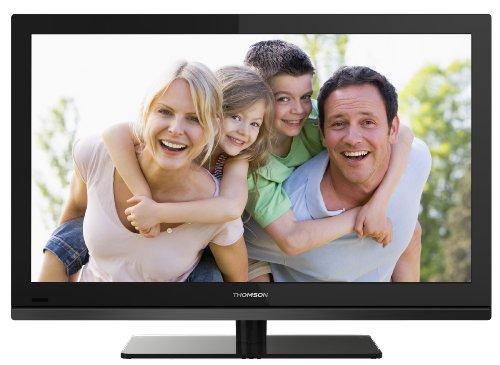 Thomson 40FT4253 101,6 cm (40 Zoll) LED-Backlight-Fernseher, Energieeffizienzklasse A (Full HD, 100Hz CMI, DVB-C/-T Tuner, CI+, 3x HDMI, USB 2.0) schwarz