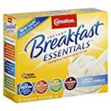 Nestle Carnation Instant Breakfast Classic French Vanilla 10 pk Nutritional Energy Drink 12.6 oz (Pack of 6)