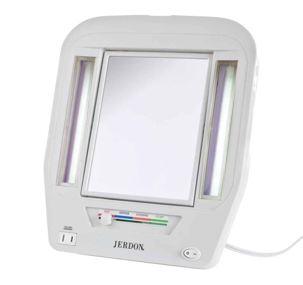 Amazoncom  Jerdon JGL7W Euro Lighted Mirror with 5x