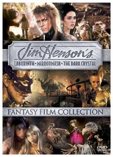 Jim Henson Fantasy Film Collection (Labyrinth / The Dark Crystal / MirrorMask)