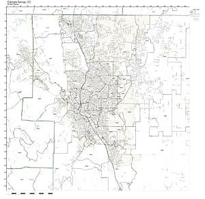 Amazon.com: Colorado Springs, CO ZIP Code Map Not