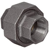 Anvil Malleable Iron Pipe Fitting, Class 150, Union, NPT