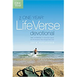 The One Year Life Verse Devotional (One Year Book)