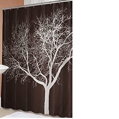 "Product Image Tree Shower Curtain - Chocolate (70x72"")"
