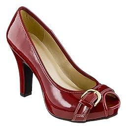 Sarah Palin-Style Red Pumps