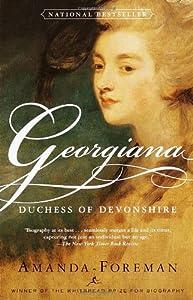 """Cover of """"Georgiana: Duchess of Devonshir..."""