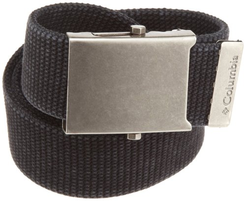 Columbia Men's Military-Style Belt, Black, One Size