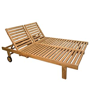 Wood Double Chaise Lounge Plans