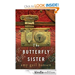 Butterfly Sister a novel by Amy Gail Hansen