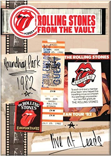 ROLLING STONES From The Vault - Live In Leeds 1982