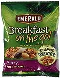 Emerald Breakfast On The Go - Berry Nut Blend (Case of 8)1.5oz each NET WT 12oz