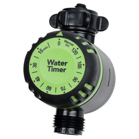 Water Hose Timer (Green) Hardware Plumbing Timers