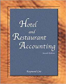 Hotel and Restaurant Accounting with Answer Sheet AHLEI 7th Edition AHLEI  Hospitality