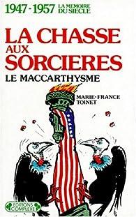 La Chasse Aux Sorcières Usa : chasse, sorcières, Chasse, Sorcières,, Maccarthysme, Babelio