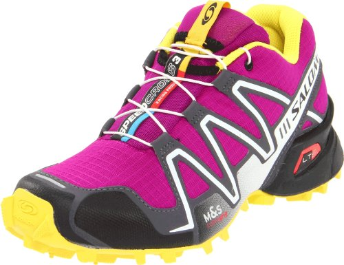 SALOMON Speedcross 3 Damen Trail Laufschuhe, Purple/Schwarz, 40 2/3