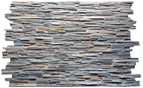 Wandverkleidung Steinoptik Innen und Auenrume mit einer Steinimitat Wandverkleidung gestalten
