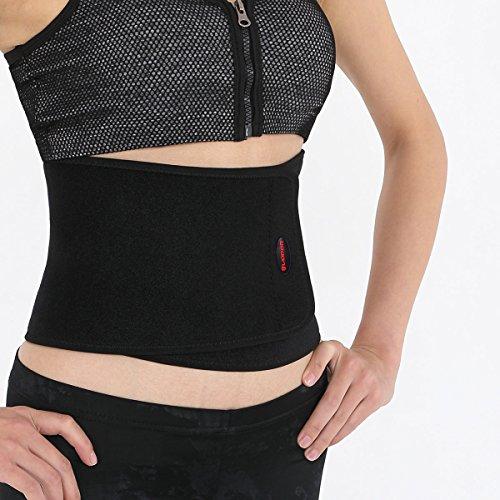 Liomor Waist Trimmer Belt Waist Back Support Belt Weight Loss Belt for Men Women - One Size