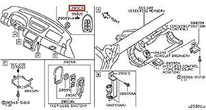 Amazon.com: Infiniti 285E3-AC70D, Remote Control