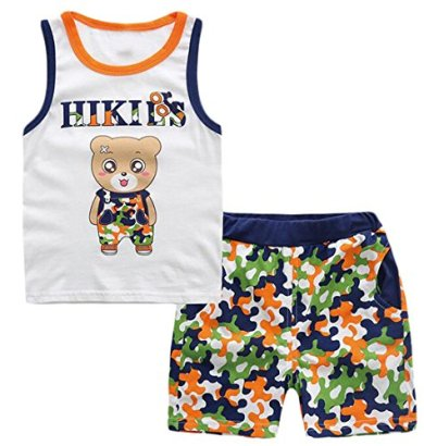 Binn-Baby-Boy-Casual-2-Piece-Bear-Tank-Top-and-Camo-Shorts-Set-2T-white