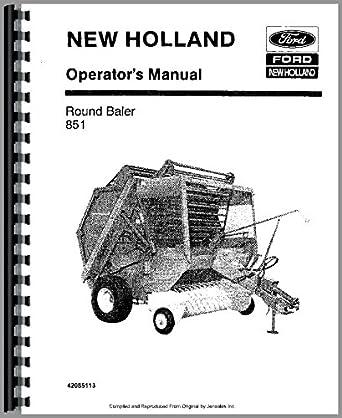 Amazon.com: New Holland 851 Baler Operators Manual